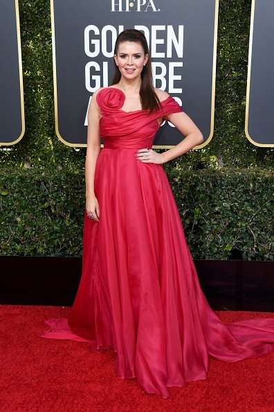 BEVERLY HILLS, CA - JANUARY 06:  Carly Steel attends the 76th Annual Golden Globe Awards at The Beverly Hilton Hotel on January 6, 2019 in Beverly Hills, California.  (Photo by Jon Kopaloff/Getty Images)