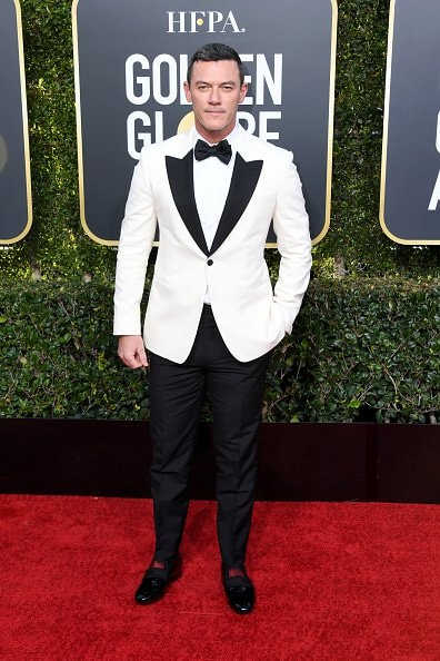 BEVERLY HILLS, CA - JANUARY 06:  Luke Evans attends the 76th Annual Golden Globe Awards at The Beverly Hilton Hotel on January 6, 2019 in Beverly Hills, California.  (Photo by Jon Kopaloff/Getty Images)