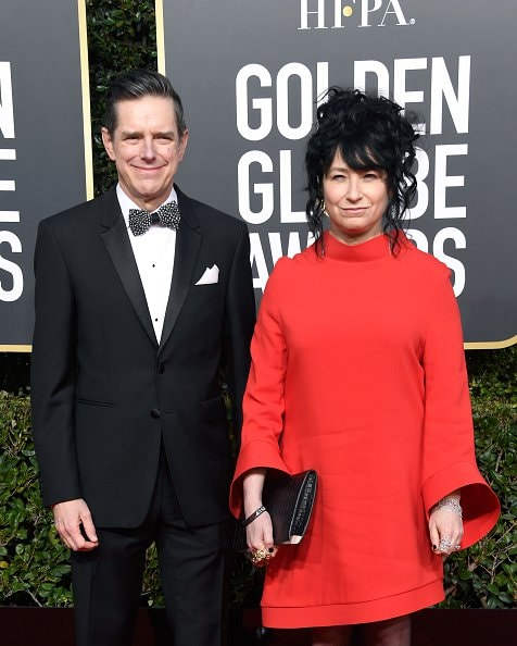 BEVERLY HILLS, CA - JANUARY 06:  Daniel Palladino (L) and Amy Sherman-Palladino attend the 76th Annual Golden Globe Awards at The Beverly Hilton Hotel on January 6, 2019 in Beverly Hills, California.  (Photo by Frazer Harrison/Getty Images)