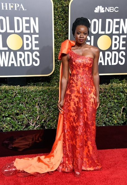 BEVERLY HILLS, CA - JANUARY 06:  Danai Gurira attends the 76th Annual Golden Globe Awards at The Beverly Hilton Hotel on January 6, 2019 in Beverly Hills, California.  (Photo by Frazer Harrison/Getty Images)