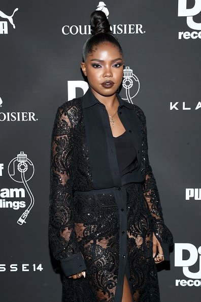 WEST HOLLYWOOD, CALIFORNIA - FEBRUARY 08: Ryan Destiny attends the Def Jam Pre-Grammy 2019 party at Catch LA sponsored by Courvoisier, Puma, Klasse 14 and Tik Tok on February 08, 2019 in West Hollywood, California. (Photo by Rich Polk/Getty Images for Def Jam Recordings)