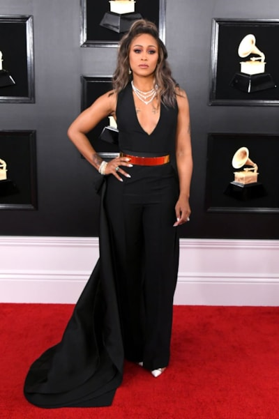 LOS ANGELES, CALIFORNIA - FEBRUARY 10: Eve attends the 61st Annual GRAMMY Awards at Staples Center on February 10, 2019 in Los Angeles, California. (Photo by Jon Kopaloff/Getty Images)