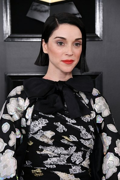 LOS ANGELES, CALIFORNIA - FEBRUARY 10: St. Vincent attends the 61st Annual GRAMMY Awards at Staples Center on February 10, 2019 in Los Angeles, California. (Photo by Jon Kopaloff/Getty Images)