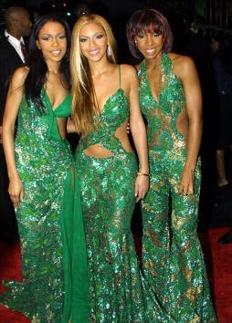 385814 08: Musical group Destiny's Child arrives at Sony Music's private Grammy after party February 21, 2001 in West Hollywood, CA. (Photo by Jason Kirk/Newsmakers)