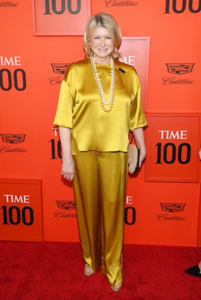 NEW YORK, NEW YORK - APRIL 23: Martha Stewart attends the TIME 100 Gala Red Carpet at Jazz at Lincoln Center on April 23, 2019 in New York City. (Photo by Dimitrios Kambouris/Getty Images for TIME)