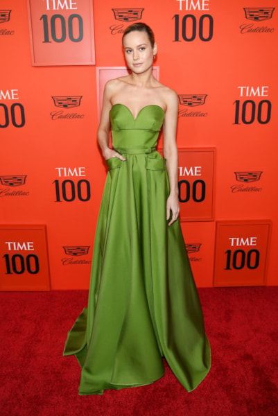 NEW YORK, NEW YORK - APRIL 23: Brie Larson attends the TIME 100 Gala Red Carpet at Jazz at Lincoln Center on April 23, 2019 in New York City. (Photo by Dimitrios Kambouris/Getty Images for TIME)