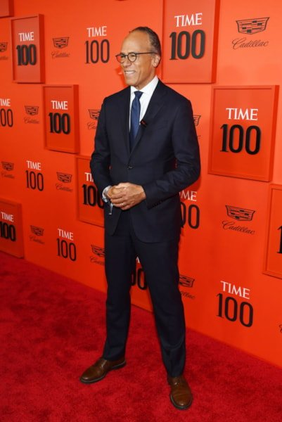 NEW YORK, NEW YORK - APRIL 23: Lester Holt attends the TIME 100 Gala Red Carpet at Jazz at Lincoln Center on April 23, 2019 in New York City. (Photo by Dimitrios Kambouris/Getty Images for TIME)