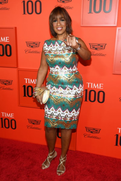 NEW YORK, NEW YORK - APRIL 23: Gayle King attends the TIME 100 Gala Red Carpet at Jazz at Lincoln Center on April 23, 2019 in New York City. (Photo by Dimitrios Kambouris/Getty Images for TIME)