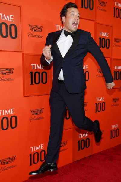 NEW YORK, NEW YORK - APRIL 23: Jimmy Fallon attends the TIME 100 Gala Red Carpet at Jazz at Lincoln Center on April 23, 2019 in New York City. (Photo by Dimitrios Kambouris/Getty Images for TIME)