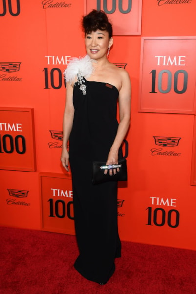 NEW YORK, NEW YORK - APRIL 23: Sandra Oh attends the TIME 100 Gala Red Carpet at Jazz at Lincoln Center on April 23, 2019 in New York City. (Photo by Dimitrios Kambouris/Getty Images for TIME)