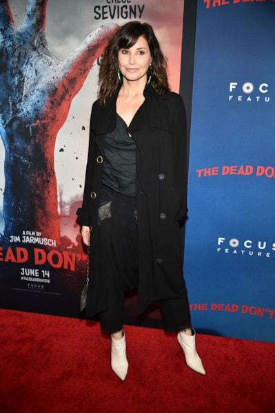 """NEW YORK, NEW YORK - JUNE 10: Gina Gershon attends """"The Dead Don't Die"""" New York Premiere at Museum of Modern Art on June 10, 2019 in New York City. (Photo by Theo Wargo/Getty Images)"""