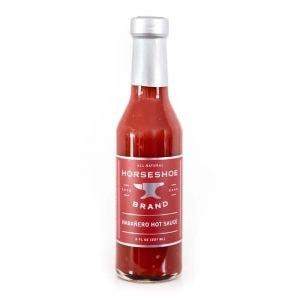 Horseshoe Brand Habenero Hot Sauce